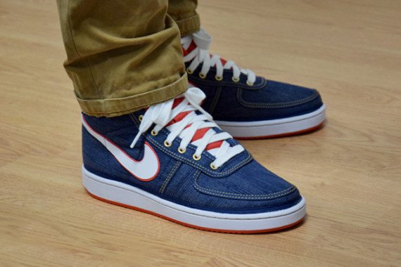 promo code a4704 86ec6 Nike Vandal High Denim Now Available