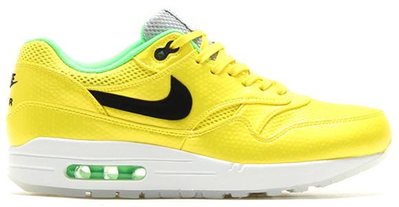 Vibrant Yellow Nike Air Max 1 Premium FB
