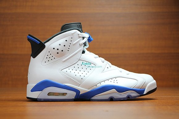 Air Jordan 6 Retro Sport Blue - New Detailed Pictures