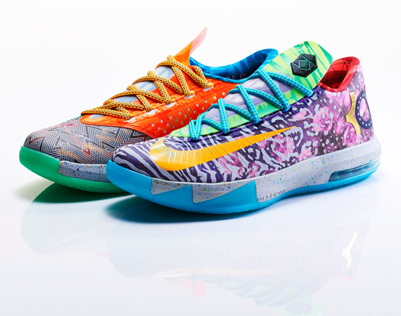 Nike What the KD 6 - Officially Unveiled