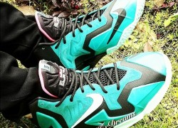 "Nike LeBron 11 GS ""South Beach"" (On Feet Photos)"