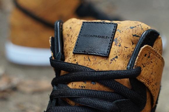 Nike SB Dunk High Cork Custom