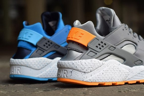 Air Huarache Blue And Orange