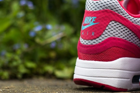Nike WMNS Air Max 1 - Geranium and Polarized Blue
