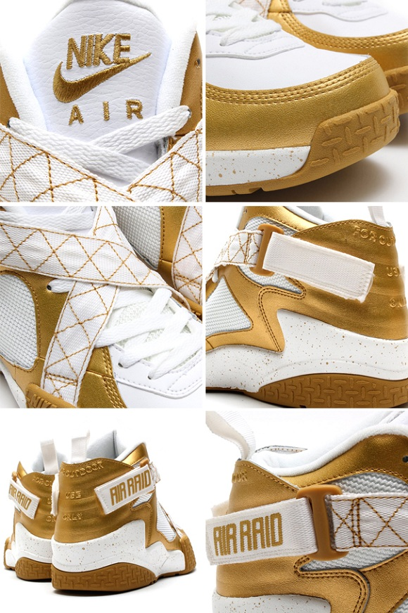 Nike Air Raid Metallic Gold - Detailed Pictures