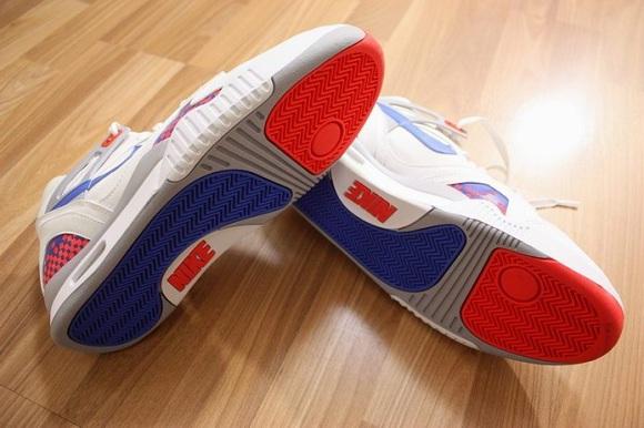 Nike Air Tech Challenge II OG QS - White/Royal Blue-Infrared