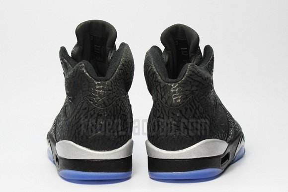 Air Jordan 3LAB5 Metallic Silver - Detailed Photos
