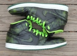 "Air Jordan 1 ""Lasers"" Customs by Kicks Galore"