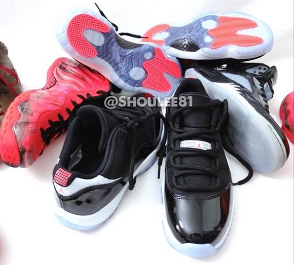 Air Jordan 11 Low Infrared 23 - On Foot + Release Date  677922021b