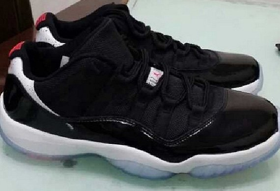 First Look: Air Jordan 11 Retro Low Infrared 23