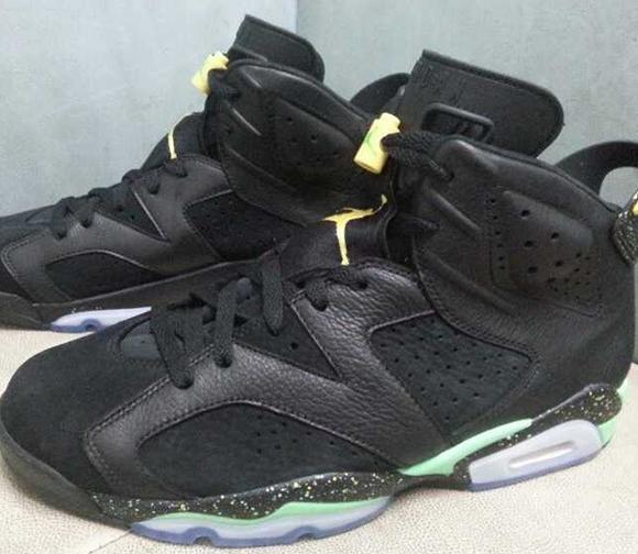 Air Jordan 6 Venom Green