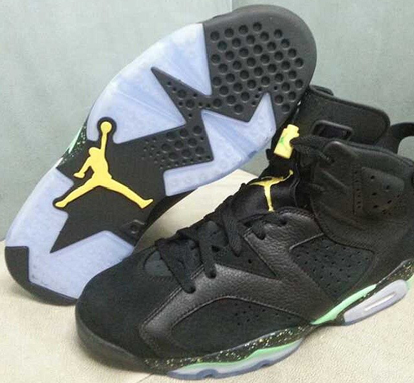 Air Jordan 6 Venom Green