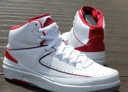 Air Jordan II (2) 'White/Varsity Red-Neutral Grey' – New Images