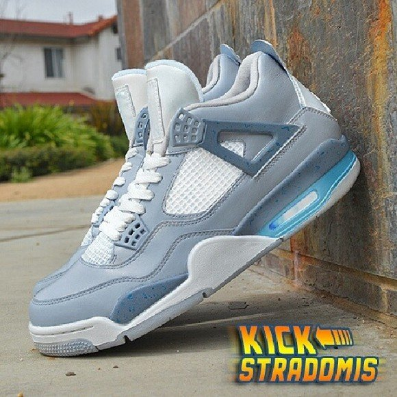 Air Mag Custom Air-jordan-iv-4-air-mag