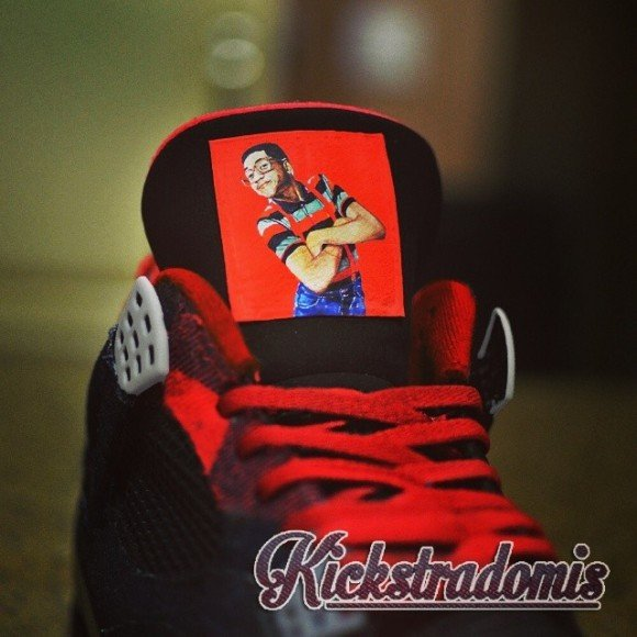huge selection of 56cf6 d6599 ... air-jordan-iv-4-urkel-customs-by-kickstradomis .