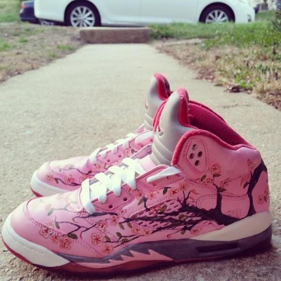 air-jordan-v-5-cherry-blossom-customs-sydney4rmphilly