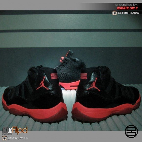 air-jordan-xi-11-infrabred-customs-by-alberto-lou