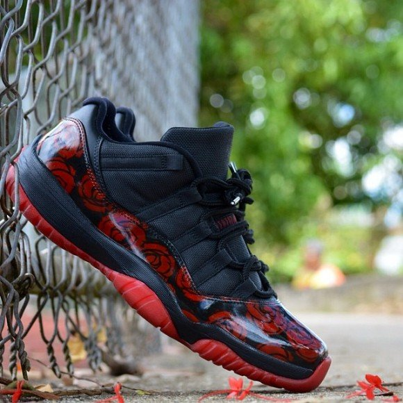 air-jordan-xi-11-low-roses-customs-customs-pr
