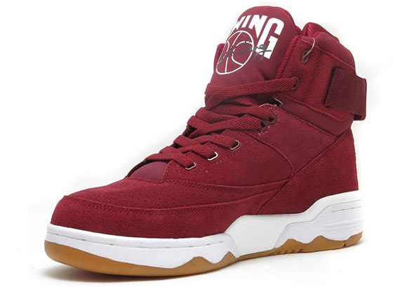 Burgundy Ewing 33 Hi