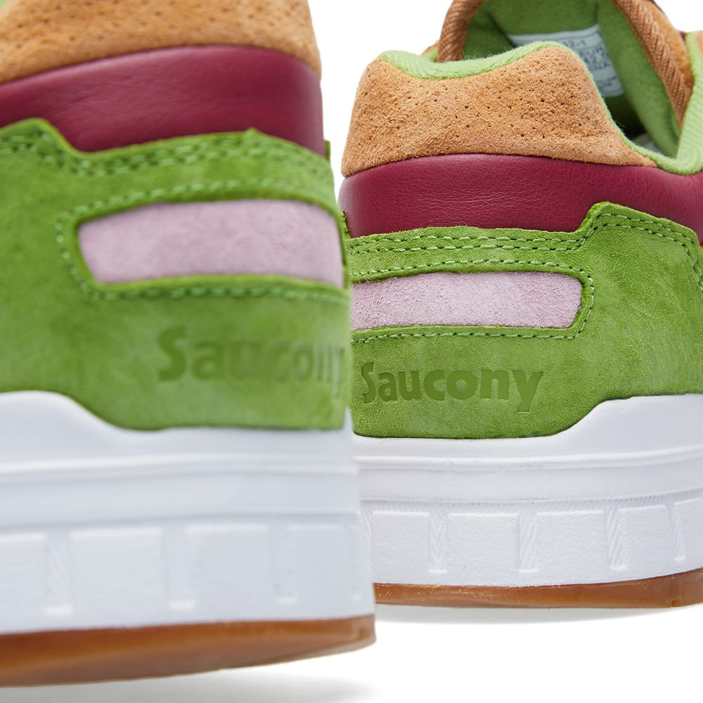 promo code 26765 abffa END. x Saucony Shadow 5000 'Burger' - Detailed Images ...