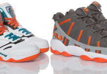 Fila Spaghetti and KJ7 Orange Pack