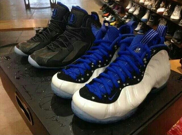 Foamposite + Lil Penny Posite = Nike Penny Shooting Stars Pack