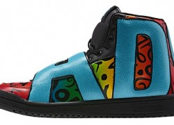 Jeremy Scott x adidas Originals Letters -Multicolor