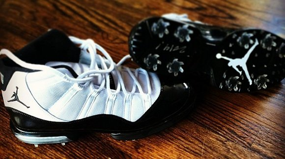 Keegan Bradley Shows Air Jordan 11 Concord Golf Cleats