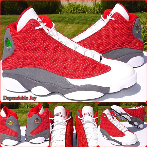 Kevin Martin Air Jordan 13 Rockets Player Exclusive