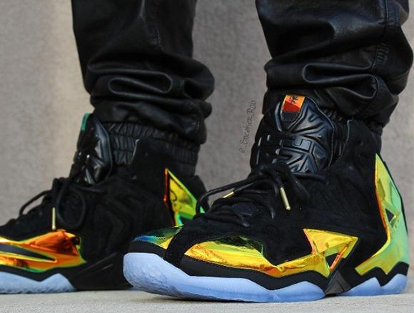 Kings Crown Nike LeBron 11 EXT On Foot