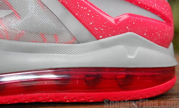 Laser Crimson Nike LeBron 11 Low Detailed Images