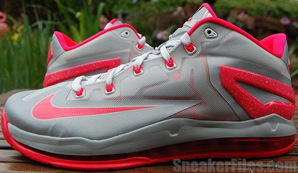 Laser Crimson Nike LeBron 11 Low Video + Detailed Images