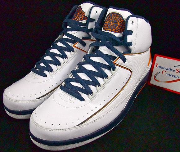 Marcus Jordan Whitney Young High Air Jordan 2 PE