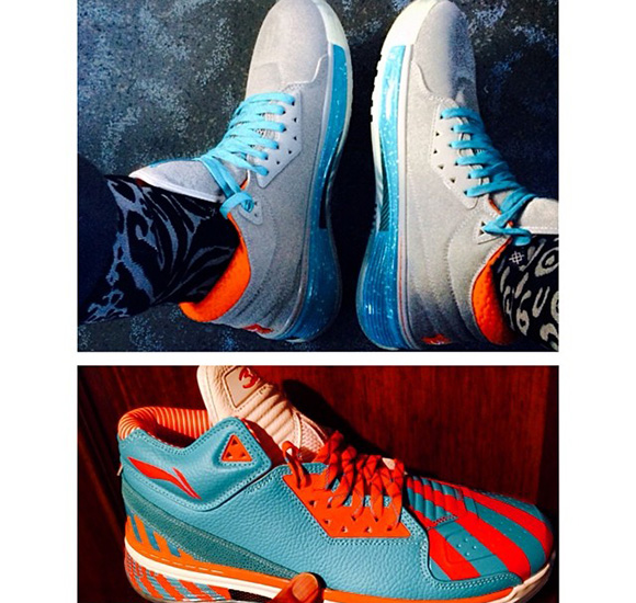 Miami Dolphins Li-Ning Way of Wade 2 Pack