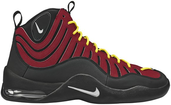 Nike Air Bakin Red Orange Blaze Release Reminder