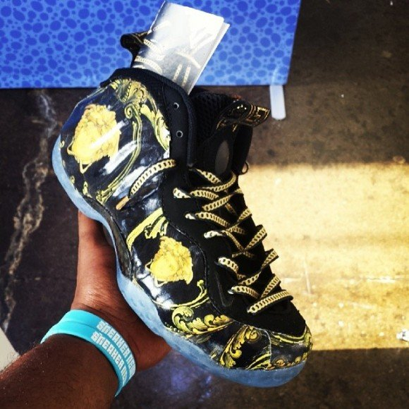 Nike Air Foamposite Quot Versace Quot Custom Pack By Fbcc