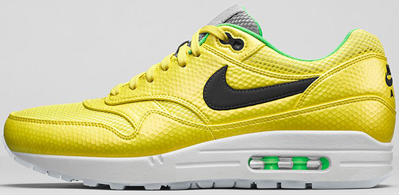Nike Air Max 1 FB Premium Vibrant Yellow Release Reminder