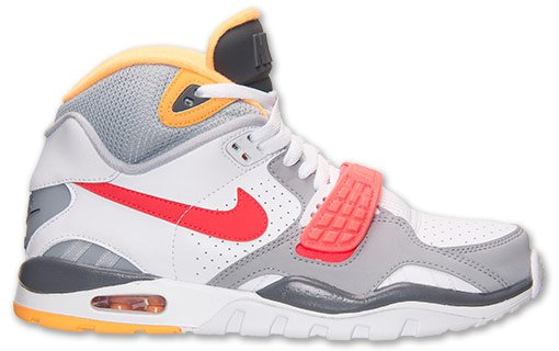906b8f2ccc6fd Nike Air Trainer SC II White Laser Crimson Wolf Grey Now Available ...