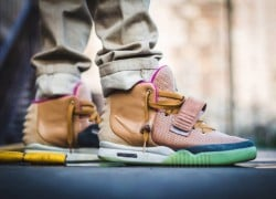 Nike Air Yeezy 2 'Net' Custom