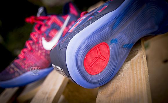 Nike Kobe 9 EM Premium QS Laser Crimson