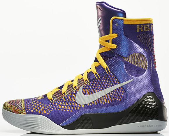 Nike Kobe 9 Team Elite Court Purple Release Reminder