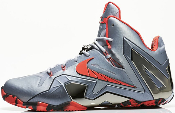 Nike LeBron 11 Elite Team Wolf Grey Release Reminder