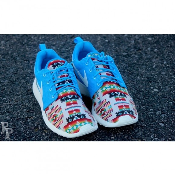Nike Roshe Run Quot Native Rug Quot Customs By Profound Product