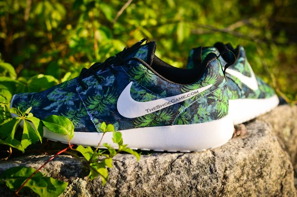 Nike Roshe Run Poison Green Palm Trees Le Site de la Sneaker