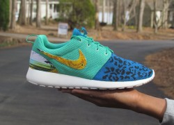 "Nike Roshe Run ""Versace"" Customs by Sole 4 The Soul"