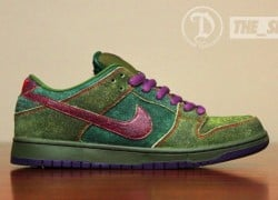 Nike SB Dunk Low 'Skunk' Custom