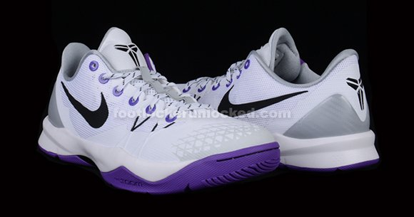 Nike Zoom Kobe Venomenon 4 Inline White Black Purple