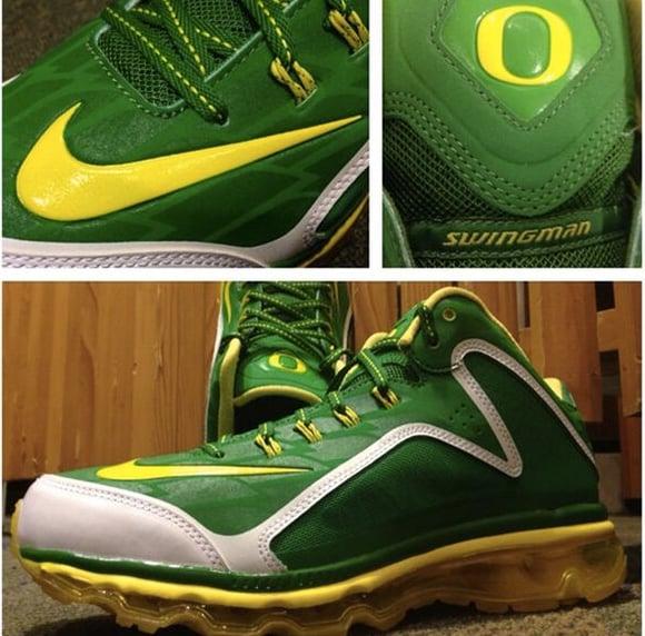 Oregon Ducks Nike Swingman 360 Pregame Turf - Ken Griffey Jr.