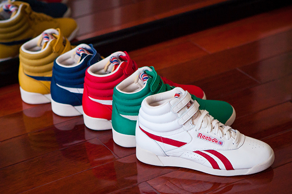 Reebok Freestyle Vintage Pack for Spring Summer 2014