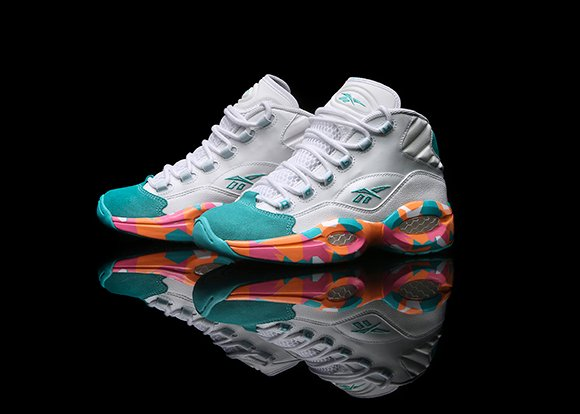 Reebok Question Mid White Noise Release Date